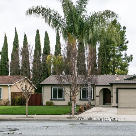 Rent this 4 bed house on 4970 Minas Drive in San Jose, CA 95136