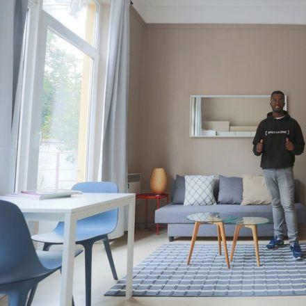 Rent this 0 bed apartment on Rue de l'Arbre Bénit - Gewijde-Boomstraat 96 in 1050 Ixelles - Elsene, Belgium