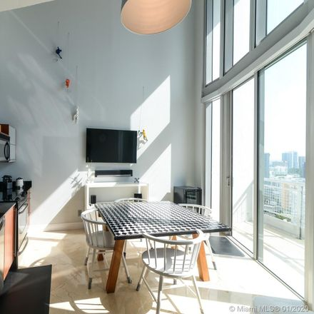Rent this 2 bed loft on American Social in 690 Southwest 1st Court, Miami