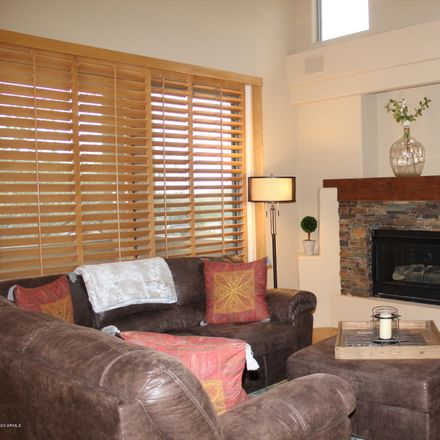 Rent this 2 bed townhouse on North Thompson Peak Parkway in Scottsdale, AZ 85260-2222