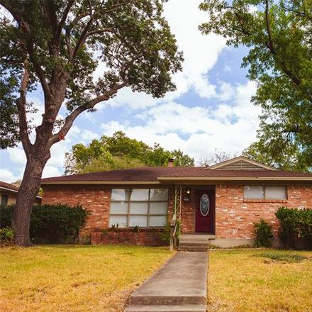 Rent this 3 bed house on 8812 Lanarkshire Drive in Dallas, TX 75238