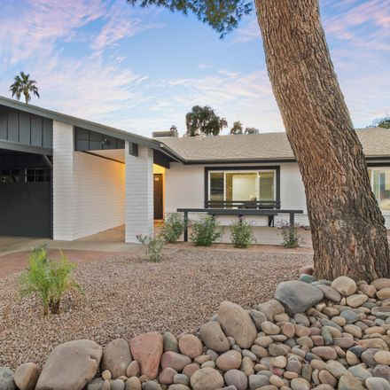 Rent this 3 bed house on 8621 East Whitton Avenue in Scottsdale, AZ 85251