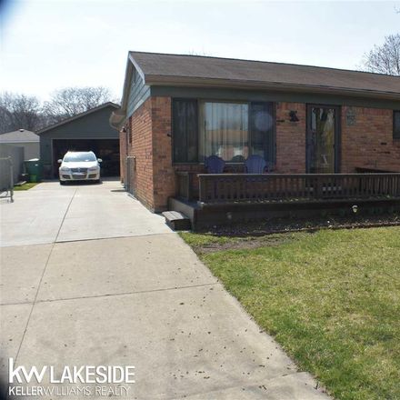 Rent this 3 bed house on Menter in New Baltimore, MI