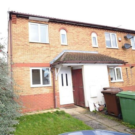 Rent this 2 bed house on Dolver Close in Corby NN18 8NB, United Kingdom