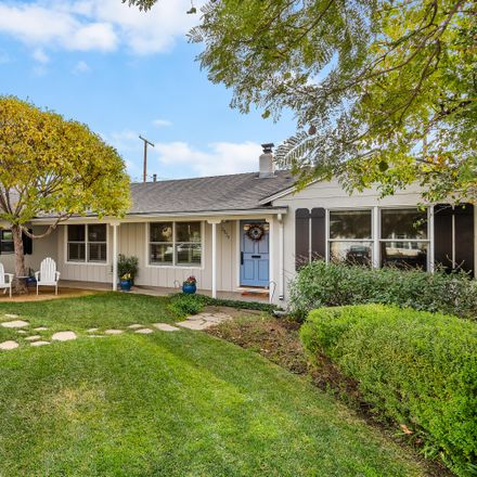 Rent this 2 bed house on 2939 Calle Noguera in Santa Barbara, CA 93105