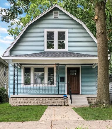 Rent this 2 bed house on 614 North Colorado Avenue in Indianapolis, IN 46201