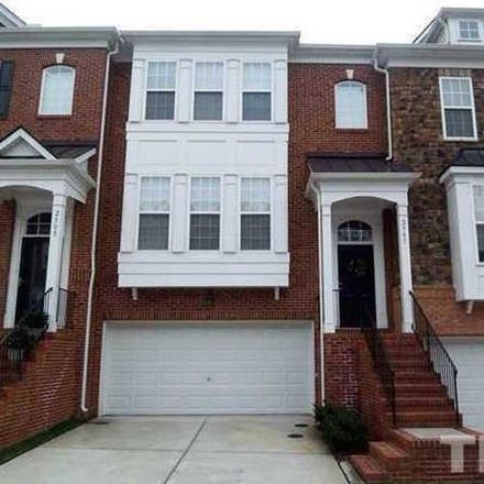 Rent this 3 bed townhouse on 2507 Silverpalm Street in Raleigh, NC 27612-6064