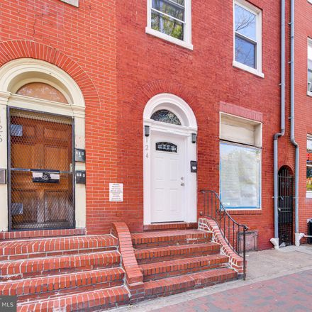 Rent this 1 bed townhouse on 124 South Broadway in Baltimore, MD 21231