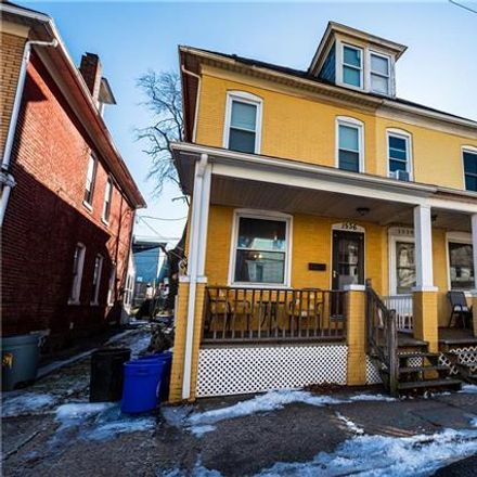 Rent this 3 bed duplex on 1536 Lehigh Street in Wilson, PA 18042