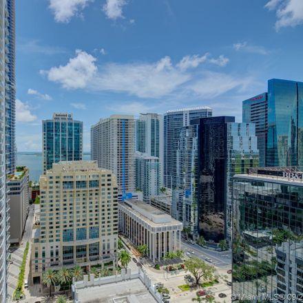Rent this 2 bed condo on 1080 Brickell Avenue in Miami, FL 33131