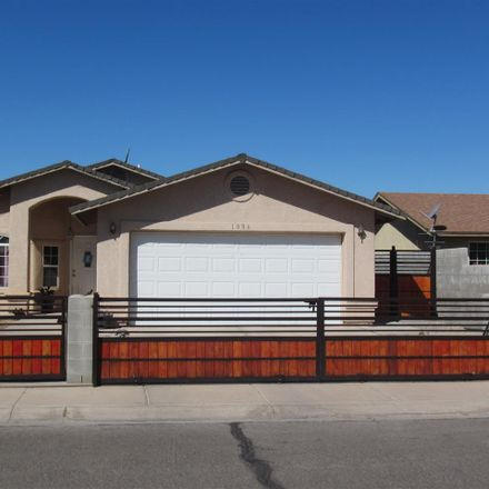 Rent this 3 bed house on 1006 Ed Pastor Avenue in San Luis, AZ 85336