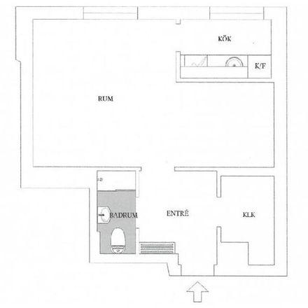 Rent this 1 bed apartment on Erikslustvägen 36H in 217 73 Malmo, Sweden