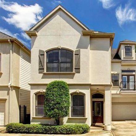 Rent this 3 bed apartment on Axis & Alibi in 5701 Washington Avenue, Houston
