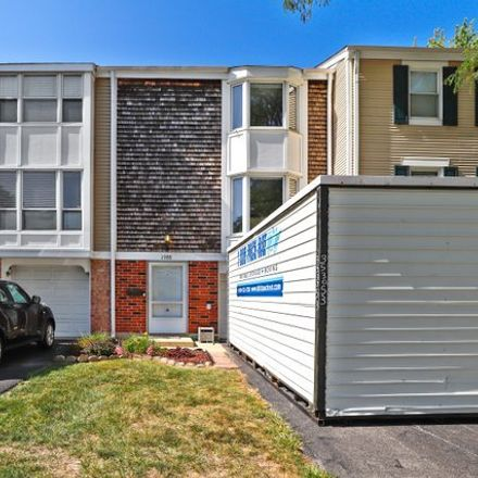 Rent this 2 bed townhouse on 1988 Holbrook Lane in Hoffman Estates, Schaumburg Township