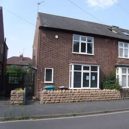 Rent this 4 bed house on 35 Ednaston Road in Nottingham NG7 2JF, United Kingdom