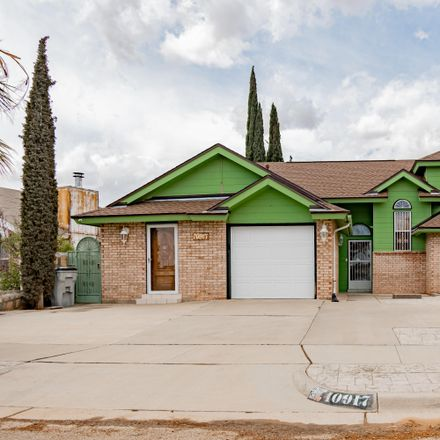 Rent this 4 bed loft on 10917 Whitehall Drive in El Paso, TX 79934