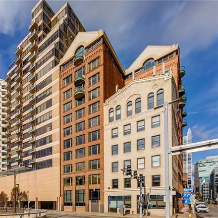 Rent this 1 bed condo on 151 Fort Pitt Boulevard in Pittsburgh, PA 15222