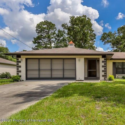 Rent this 2 bed house on 11391 Blythville Road in Spring Hill, FL 34608