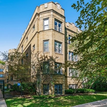 Rent this 2 bed condo on 4444-4446 North Wolcott Avenue in Chicago, IL 60640