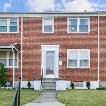 Rent this 3 bed townhouse on Weston Ave in Parkville, MD