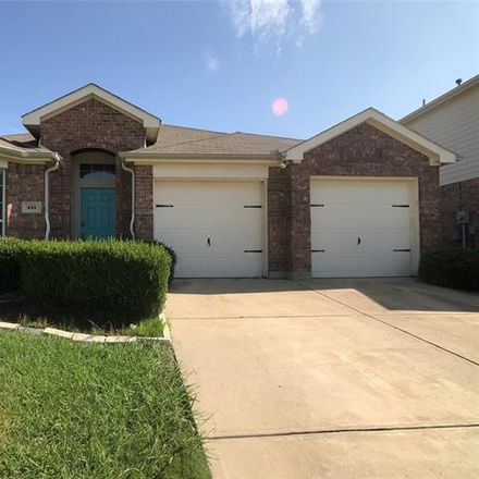 Rent this 3 bed house on 455 Butternut Drive in Fate, TX 75087