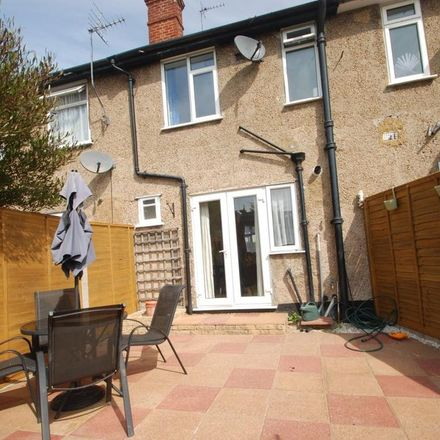 Rent this 2 bed house on Sydney Crescent in Spelthorne TW15 2BJ, United Kingdom