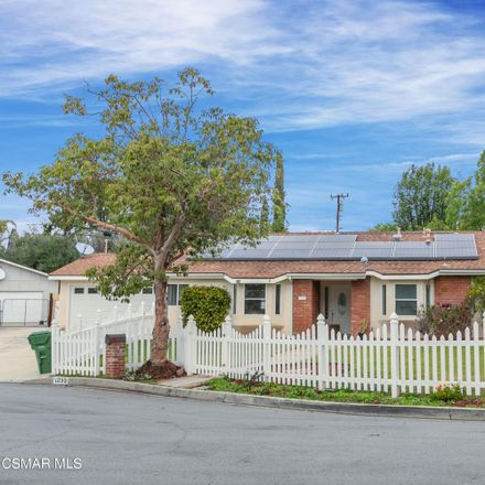 Rent this 3 bed house on 1255 Calle Pimiento in Thousand Oaks, CA 91360