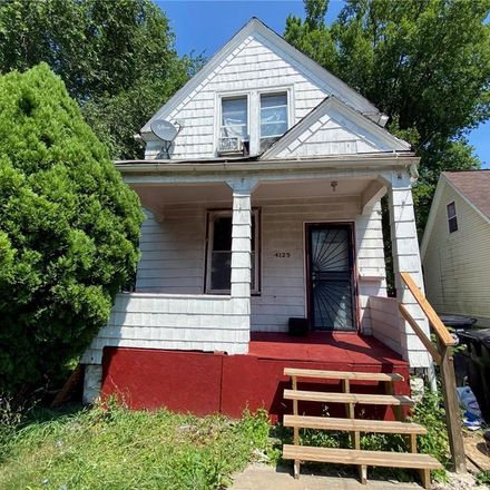 Rent this 3 bed house on 4125 East 102nd Street in Cleveland, OH 44105