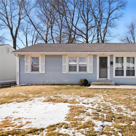 Rent this 3 bed house on 18 Norine Court in Florissant, MO 63031