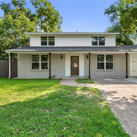 Rent this 3 bed house on 407 Ramble Lane in Austin, TX 78745