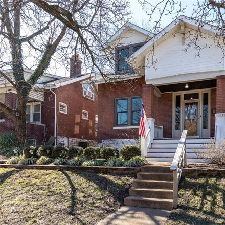 Rent this 3 bed house on 1347 McCausland Avenue in City of Saint Louis, MO 63117