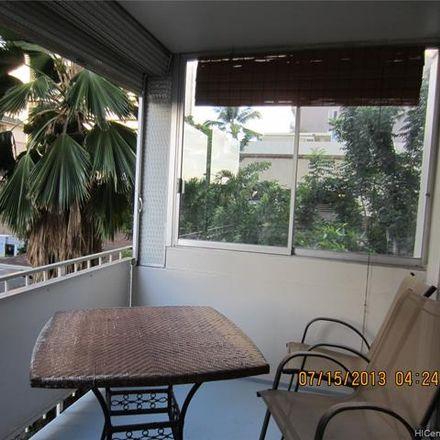 Rent this 1 bed condo on 411 Kaiolu Street in Honolulu, HI 96815