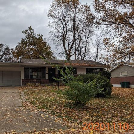 Rent this 3 bed house on 2209 Collett Drive in Moline Acres, MO 63136