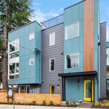 Rent this 2 bed townhouse on 14013 Greenwood Avenue North in Seattle, WA 98133