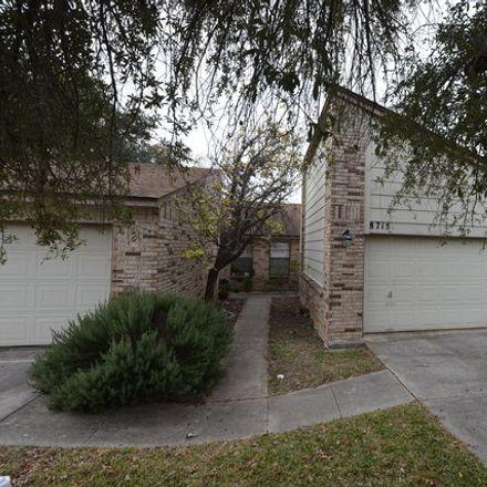 Rent this 2 bed duplex on 8715 Welles-Harbor in San Antonio, TX 78240