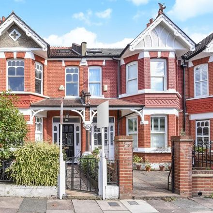 Rent this 4 bed house on Heythorp Street in London SW18 5EZ, United Kingdom