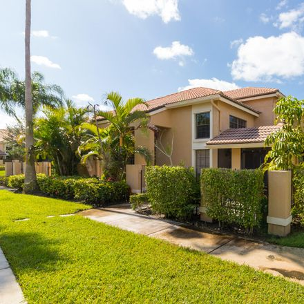Rent this 3 bed townhouse on 362 Prestwick Circle in Palm Beach Gardens, FL 33418