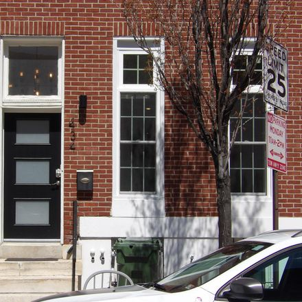 Rent this 1 bed townhouse on 434 East Lafayette Avenue in Baltimore, MD 21202