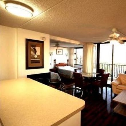 Rent this 1 bed condo on Waikiki Banyan in 201 Ohua Avenue, Honolulu