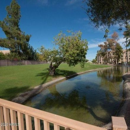 Rent this 2 bed condo on Scottsdale Shadows Executive Golf Course in 7800 East Camelback Road, Scottsdale