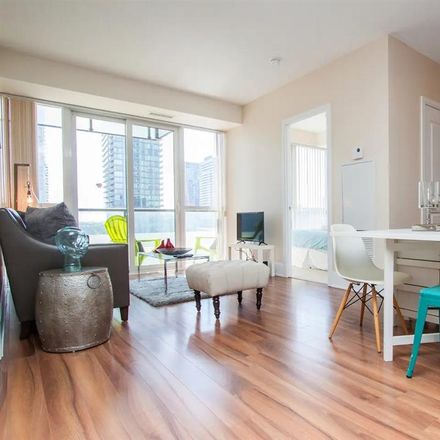 Rent this 1 bed apartment on Reve Condo in 560 Front Street West, Old Toronto