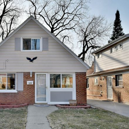 Rent this 4 bed house on 320 50th Avenue in Bellwood, IL 60104