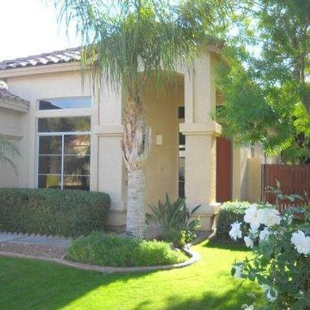 Rent this 3 bed house on 5965 West Blue Sky Drive in Maricopa County, AZ 85308