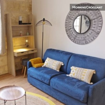 Rent this 1 bed apartment on 33 Rue des Augustins in 33000 Bordeaux, France