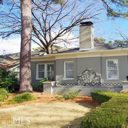 Rent this 3 bed house on N Highland Ave NE in Atlanta, GA