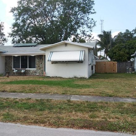 Rent this 3 bed house on 6891 Scott Street in Hollywood, FL 33024