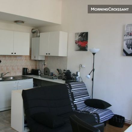 Rent this 1 bed apartment on 28 Rue Gauthier de Châtillon in 59000 Lille, France
