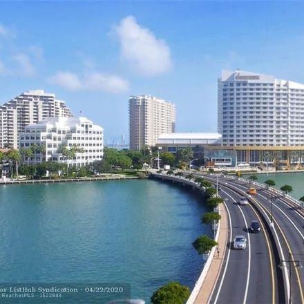Rent this 2 bed condo on Brickell Key I in 520 Brickell Key Drive, Miami