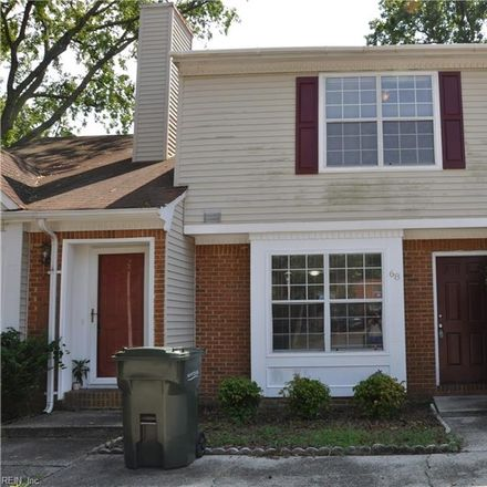 Rent this 2 bed townhouse on 68 Riverchase Drive in Hampton City, VA 23669