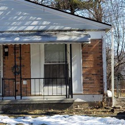 Rent this 4 bed house on 89 South Ardmore Street in Pontiac, MI 48342